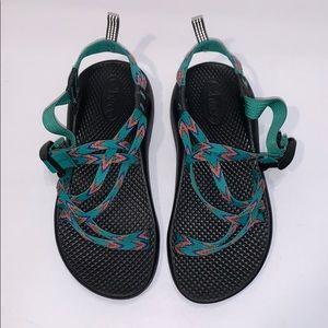 Chaco mint leaf sandals